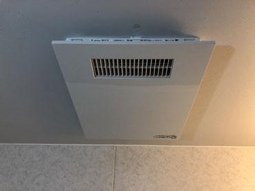 浴室暖房機取付け後 1